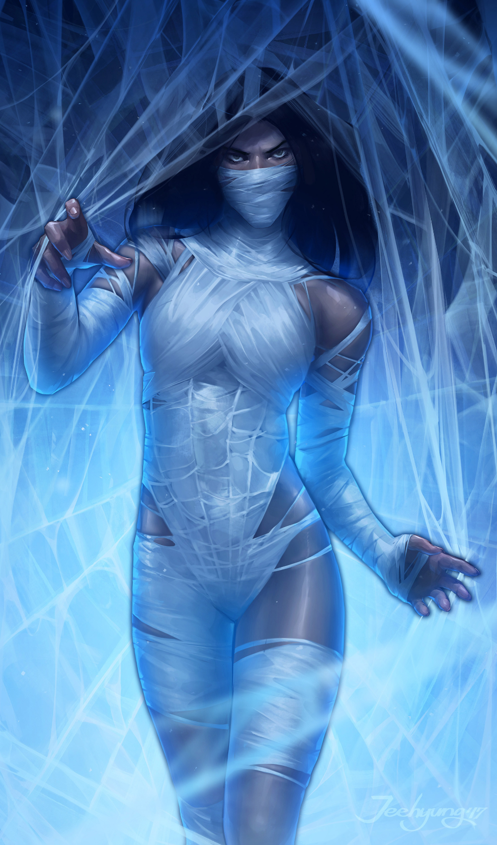 ArtStation - silk, JeeHyung lee in 2020 | Silk marvel, Marvel girls, Comics girls