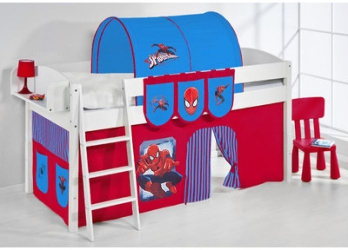 spiderman bedroom furniture. Spider Man Bunk Bed With Curtain High Sleeper Bedroom Furniture  Modern Take this Fantastic