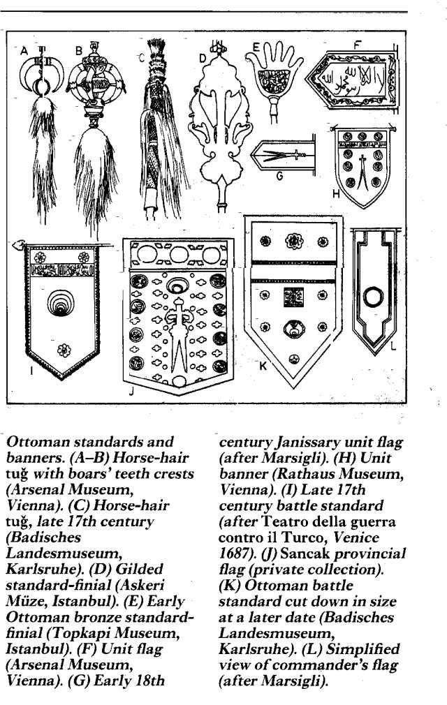 Ottoman Standard Later Period Storia Militare Ottomani Storia