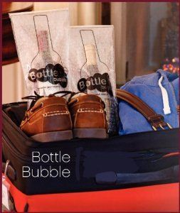Travel Bottle Bubble Carrier Holder Wine Travel Bag Wine Supplies Wine Cellar Design