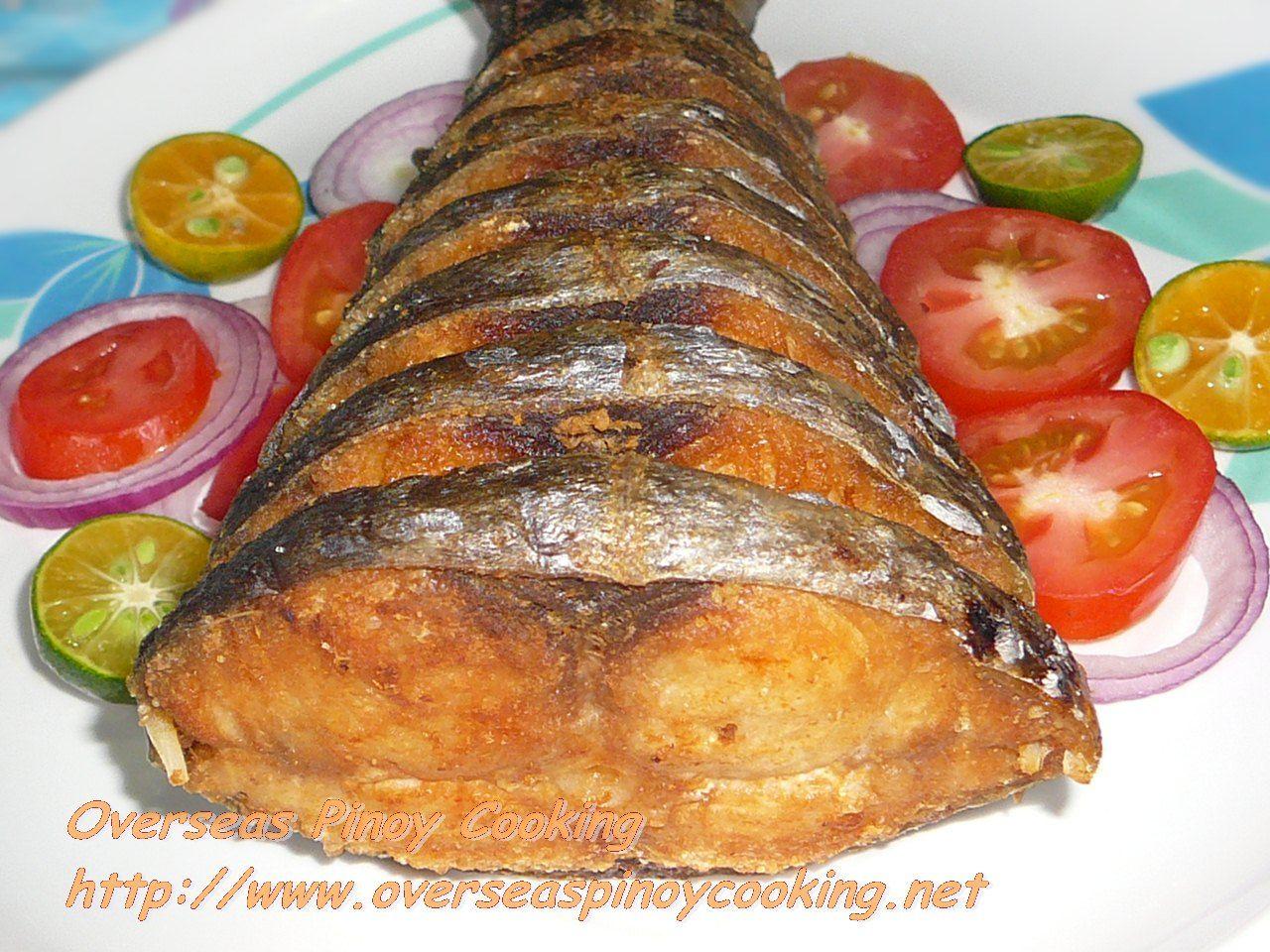 Fried king fish food pinterest fish jamaican for King fish recipe