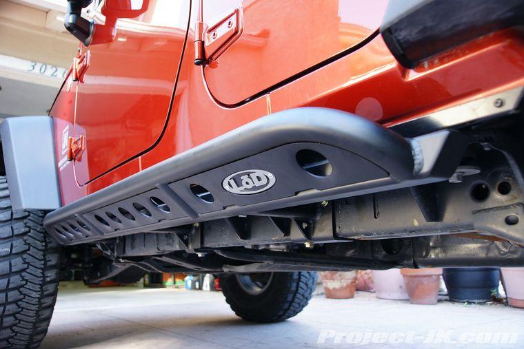 Lod Jeep Jk Wrangler Unlimited Signature Series Rock Sliders