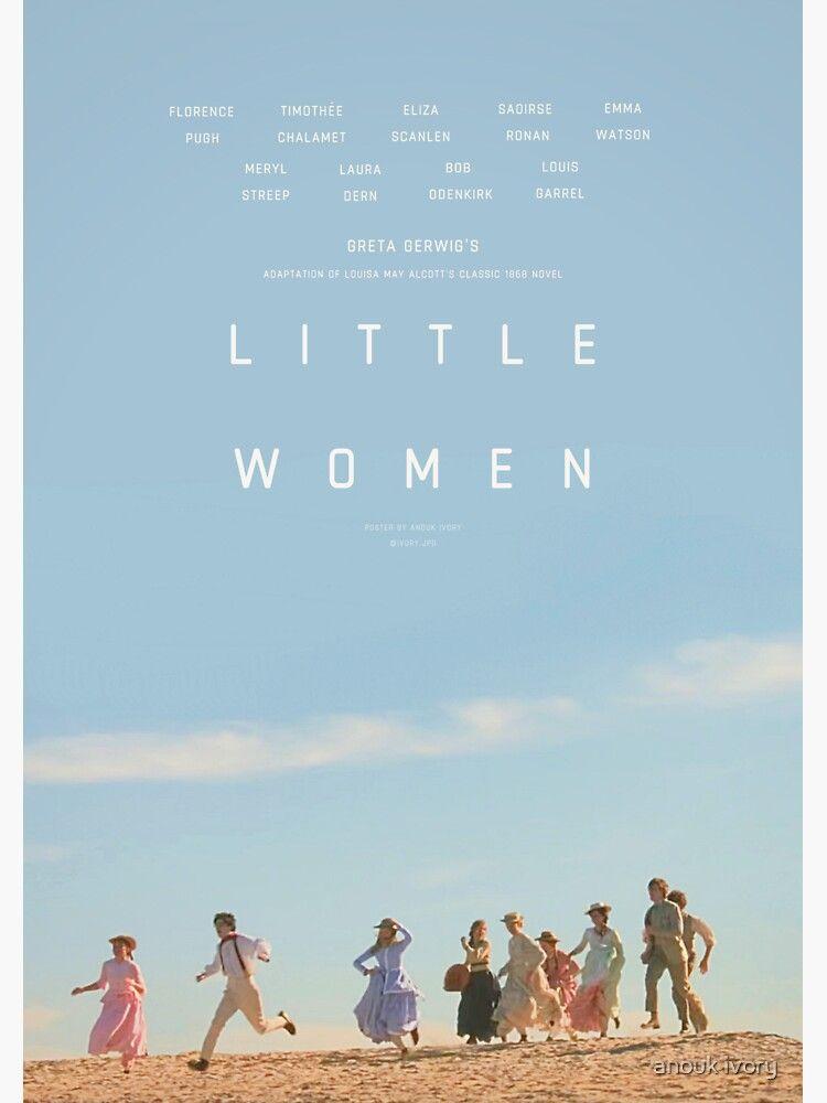 ALTERNATE LITTLE WOMEN (2019) POSTER Sticker