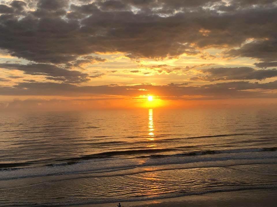 Sunrise this morning at Daytona Beach… Photo from Brandon ...