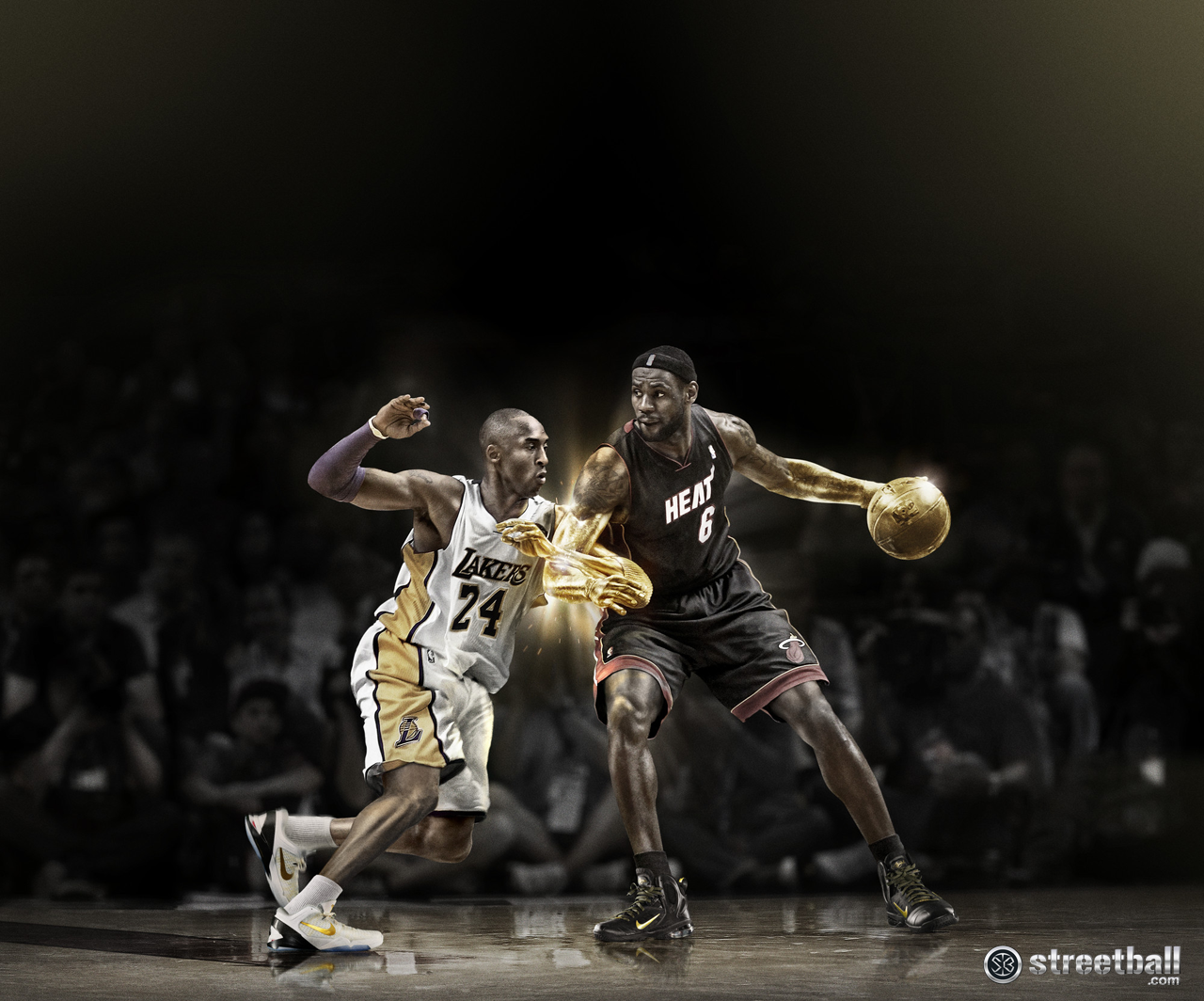 LeBron James vs Kobe Bryant LeBron James vs Kobe Bryant
