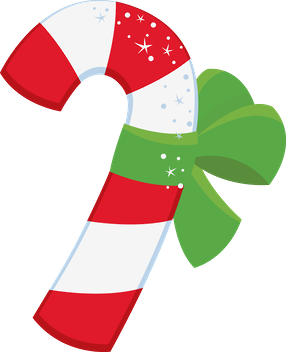 Christmas Candy Cane Clip Art  Ilustraes