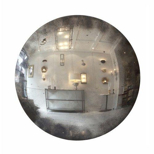 Webb Furniture Dresser With Mirror: Huge Convex Mirror - Glass Only