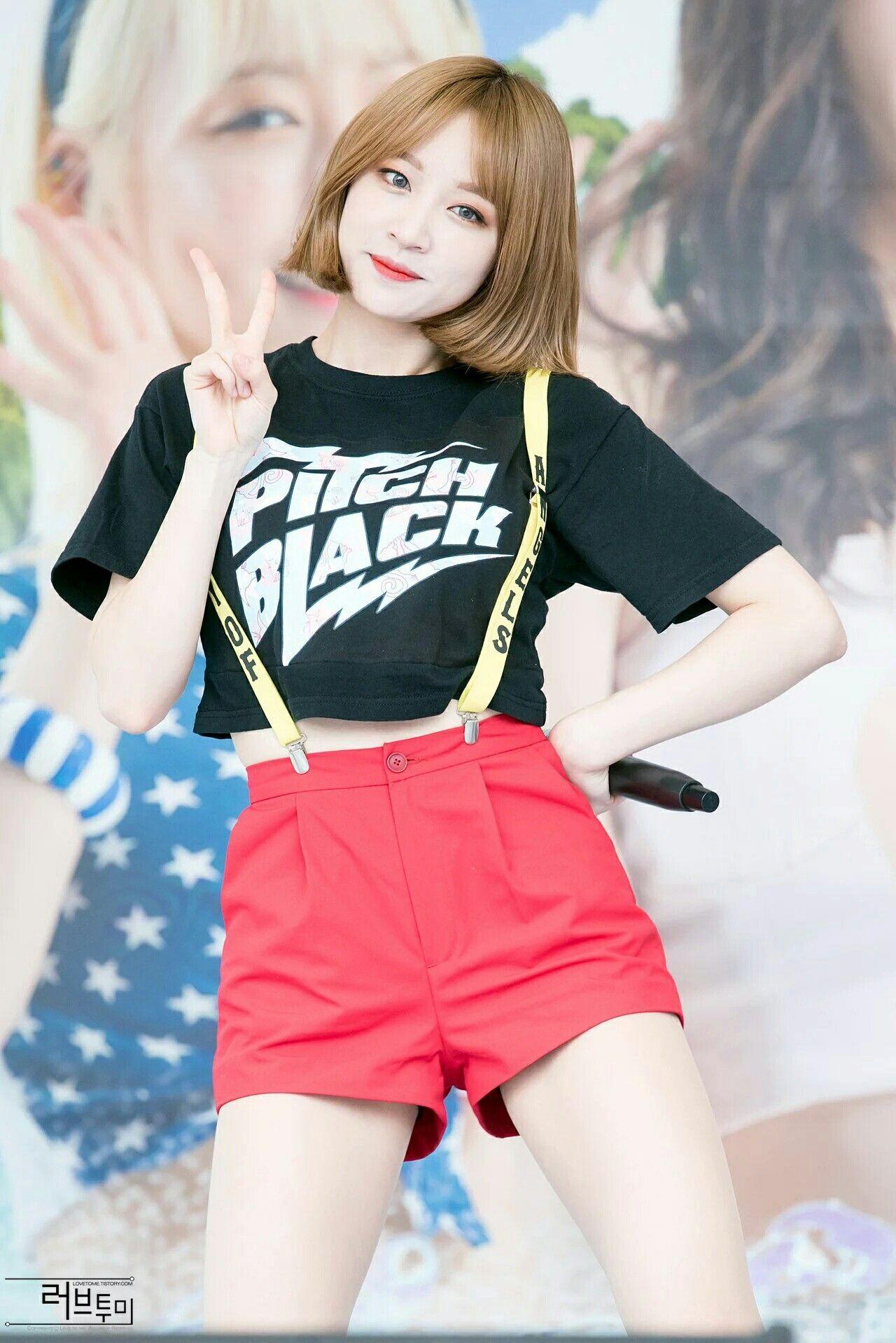 Exid Hani オルチャンファッション 韓国 女の子 女の子