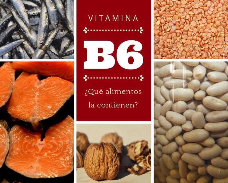 Alimentos que contienen vitamina b 6