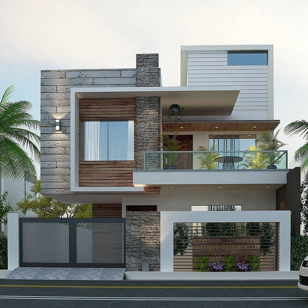 Top Future House Designs In 2020 Small House Design Exterior Modern House Facades House Front Design