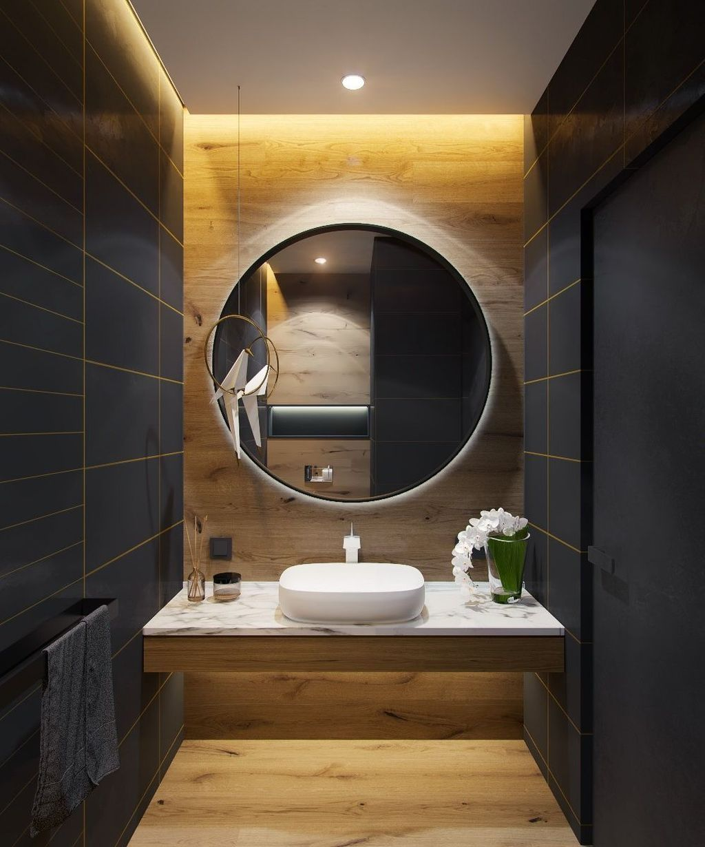 38 Cozy Small Office Bathroom Designs Ideas | Bathroom ...