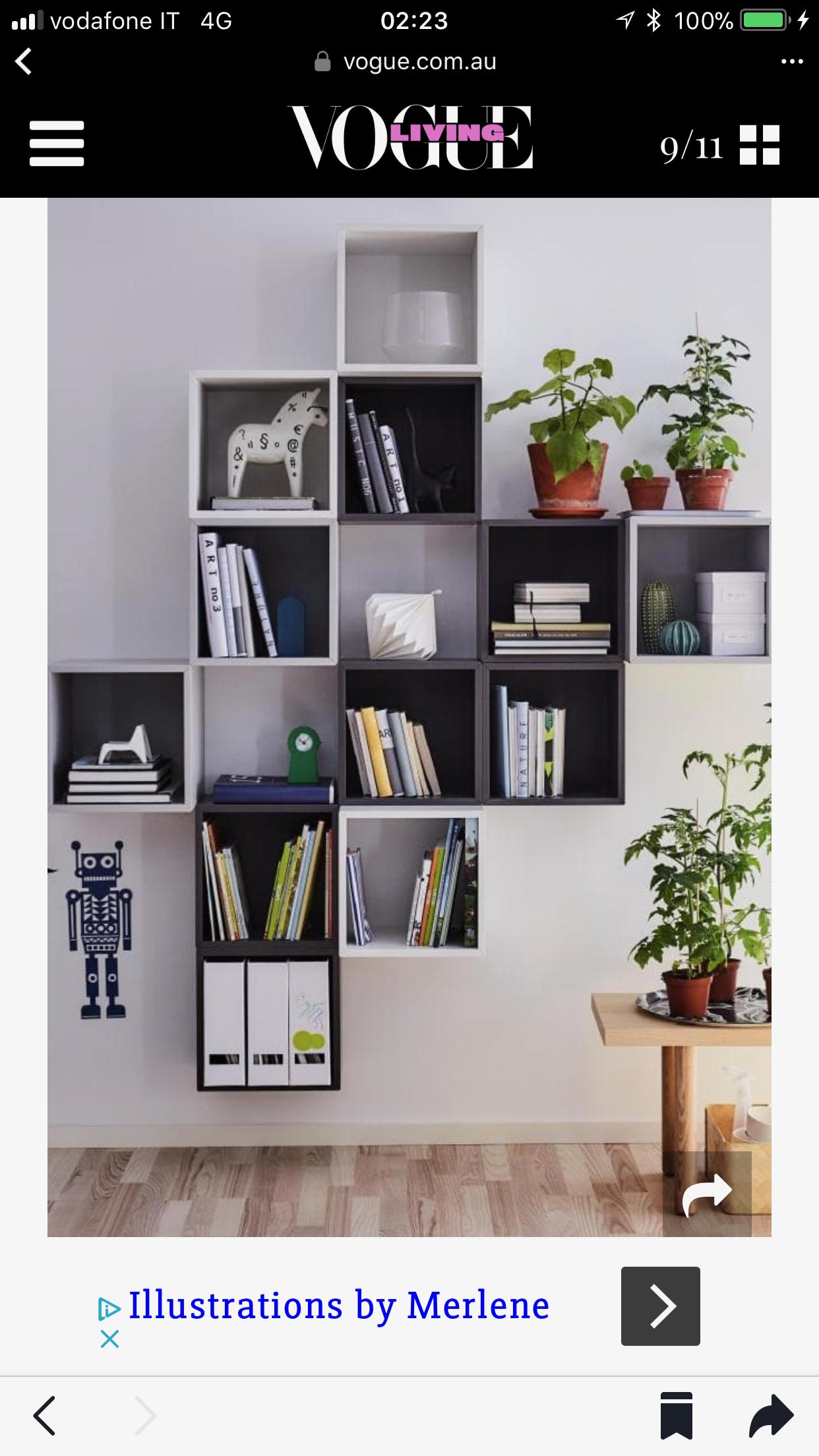 Pin by MariaAdele Marri on Idee ikea H&M home in 2019 | Pareti casa ...
