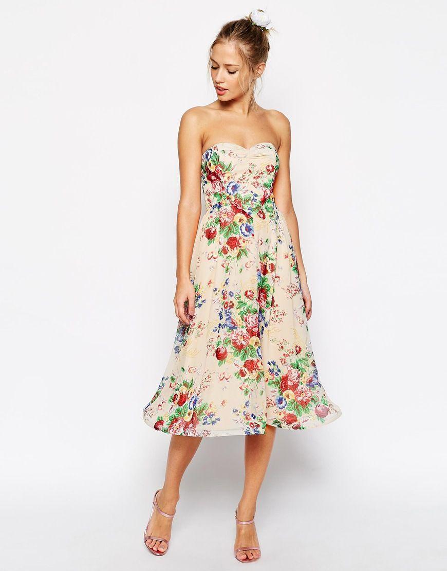 Ziemlich Vintage Blumen Brautjunferkleider Bilder - Brautkleider ...