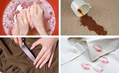 7 truques efetivos para remover as manchas das roupas