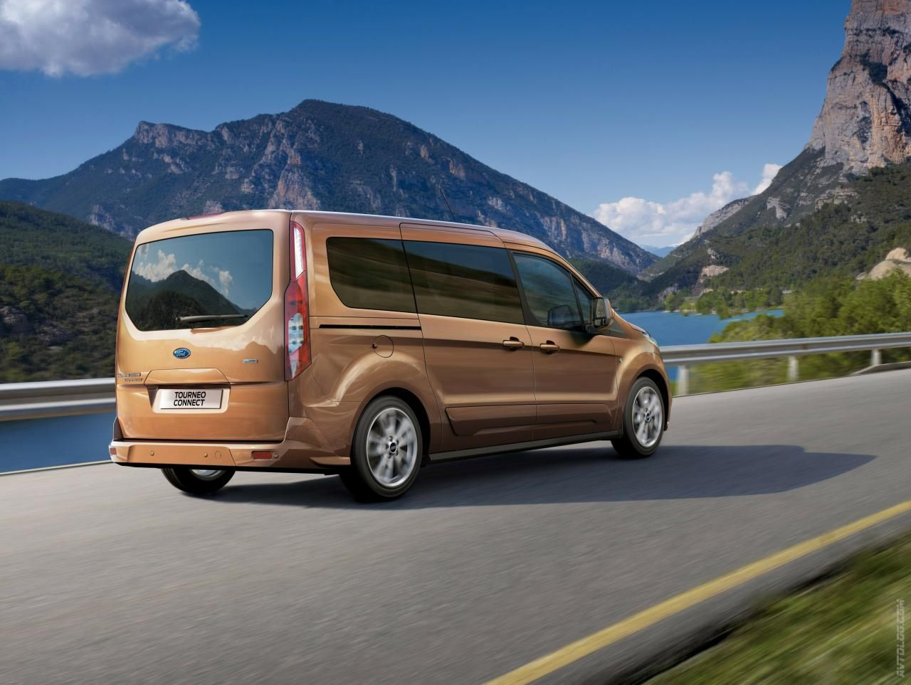 Ford tourneo courier pictures to pin on pinterest - 2014 Ford Transit Connect Wagon Bluespringsford
