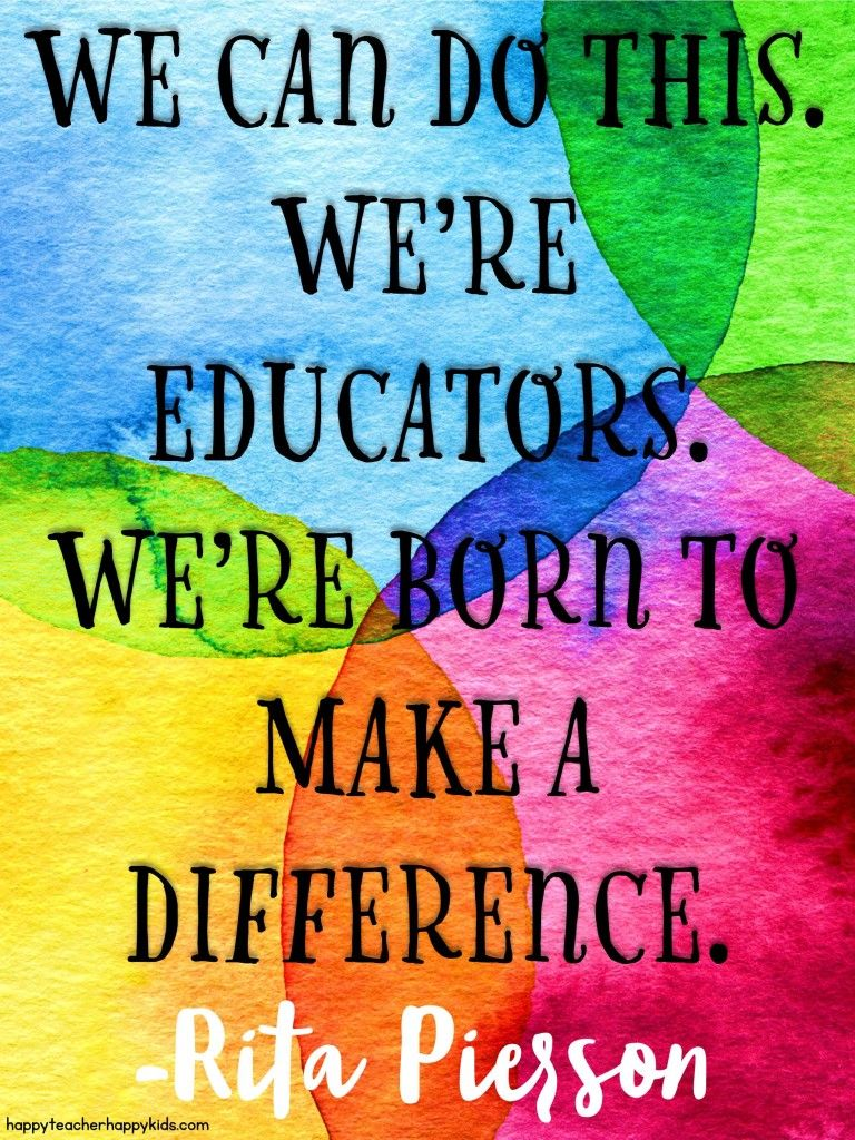 We can do this! Get inspired for a new school year