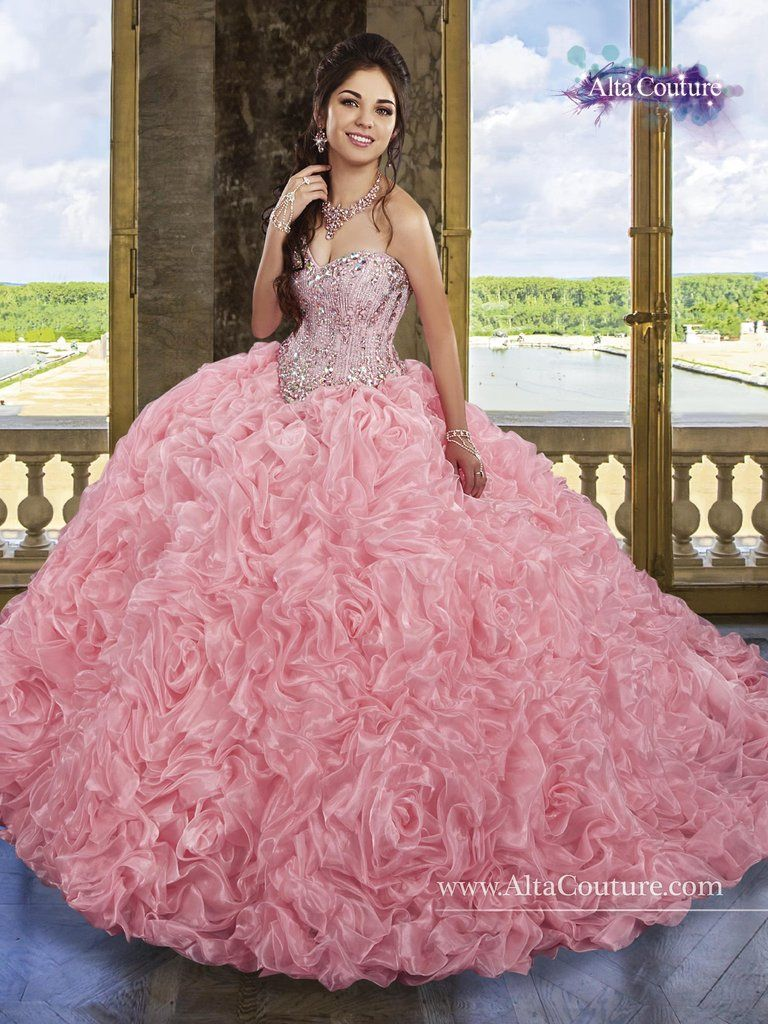 Mary's Bridal Alta Couture Quinceanera Dress Style 4T187
