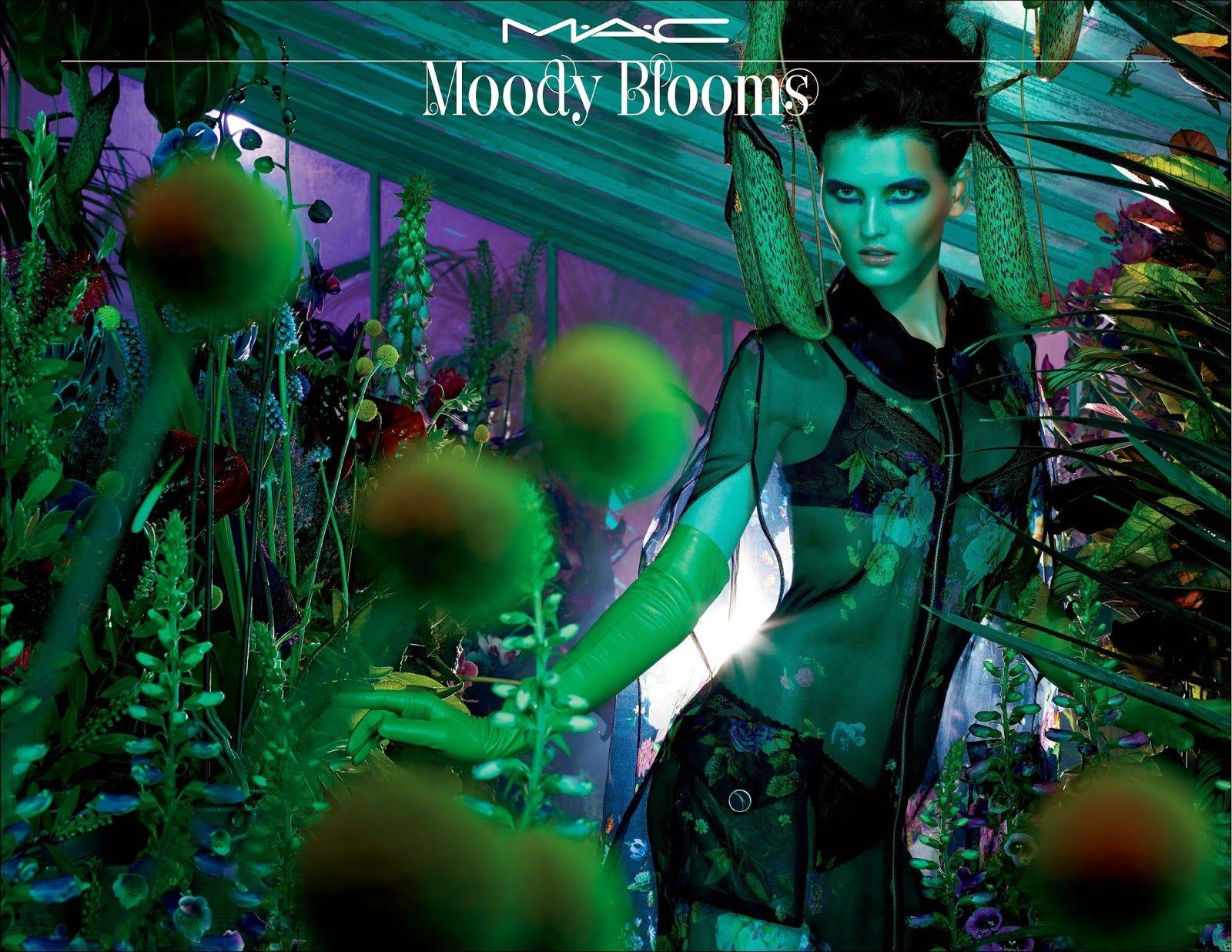 A campanha da MAC Moody Blooms Collection Summer 2014 chegou na mídia antes dos produtos chegarem às lojas. Mas eu adorei tanto a campanha quanto as cores desta coleção.