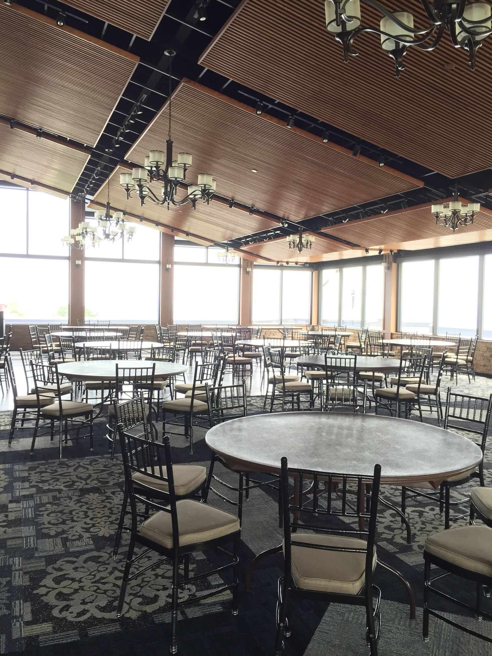 Ballroom Undecorated At Blue Mountain Ski Resort