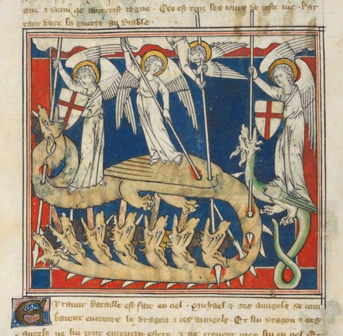 Queen Mary Apocalypse, Royal MS 19 B XV, British Library