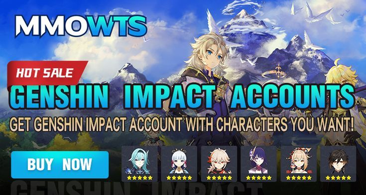 Genshin Impact Accounts
