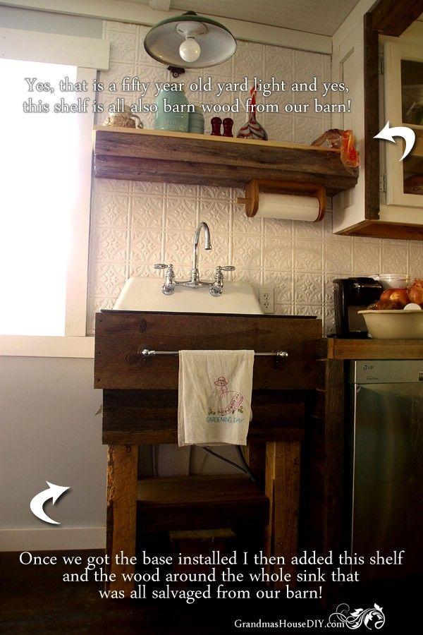 Bon How To Build A Kitchen Sink Base @GrandmasHousDIY