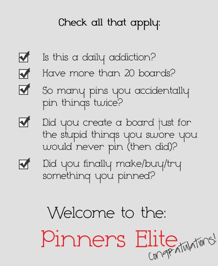 First it was no color boards, then no clothing boards, no craft boards, no recipe boards...thank you Pinterest for making me into such a liar.