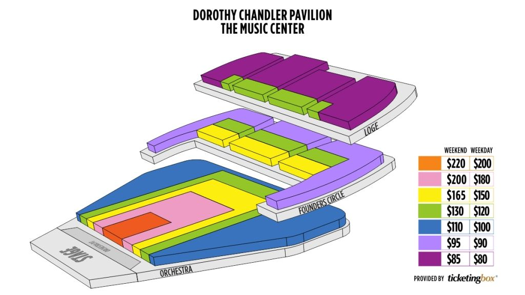 The Most Awesome In Addition To Beautiful Dorothy Chandler Pavilion Seating Chart Detailedseatingchartdorothychandlerpavilion