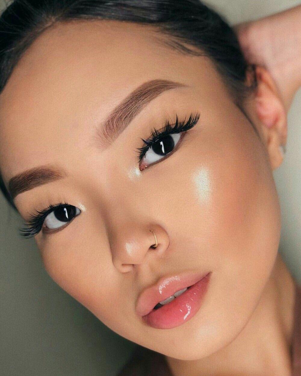 makeup inspo, japanese makeup, eye makeup tutorial, makeup