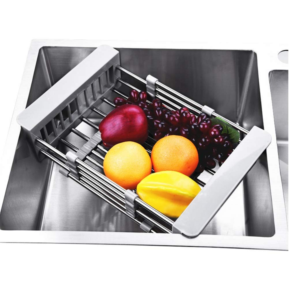 Stainless Steel Sink Drainer Basket.Amazonsmile Qook Adjustable 304 Stainless Steel Drainer