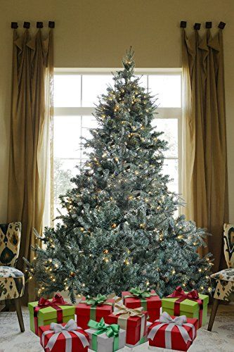 75 ft prelit premium 1600 realistic branch tips pines spruce hinged artificial christmas tree with 600