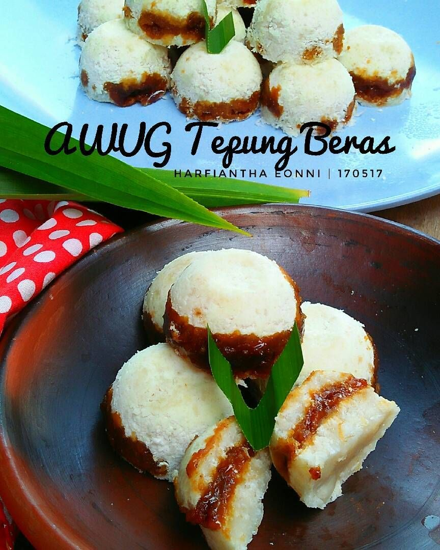 Resep Awug Tepung Beras Oleh Isti Harfiantha Resep Resep Resep Kue Beras Resep Makanan