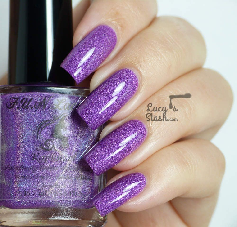 Rapunzel Nails: F.U.N Lacquer - Rapunzel