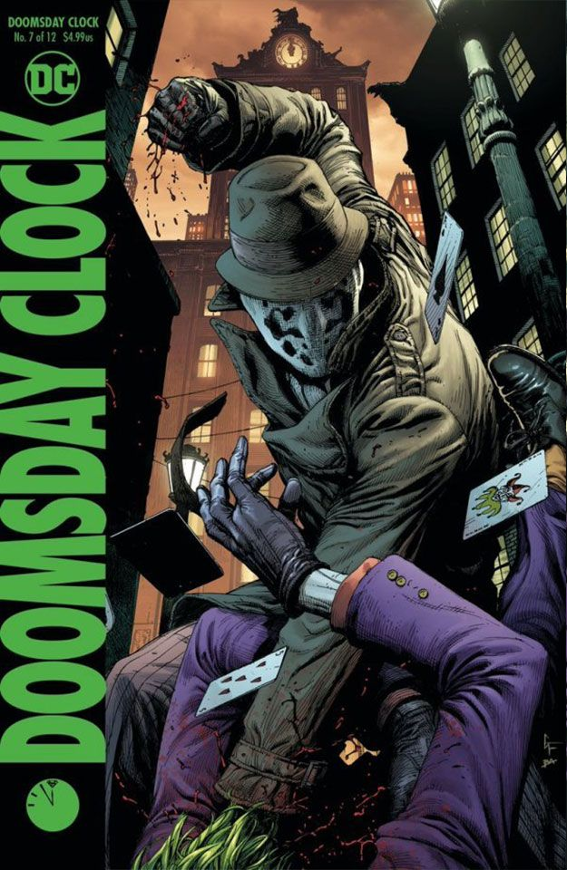Doomsday Clock Complete Cover Checklist Doomsday Clock Comics Doomsday