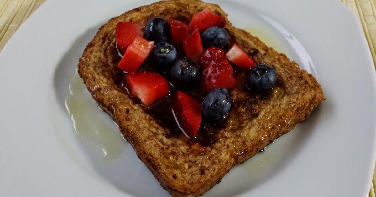 Empezar el día con tostadas francesas saludables también es posible! y os aseguro que os encantarán! Quedan muy muy ricas :)     Ingredien...