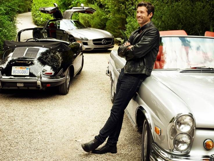 Patrick Dempsey Cars By Jeff Lipsky A Gentlemans Guide