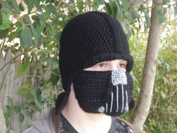 Star Wars Darth Vader Inspired Crochet Beanie Hat Cool gadgets Pinterest ...