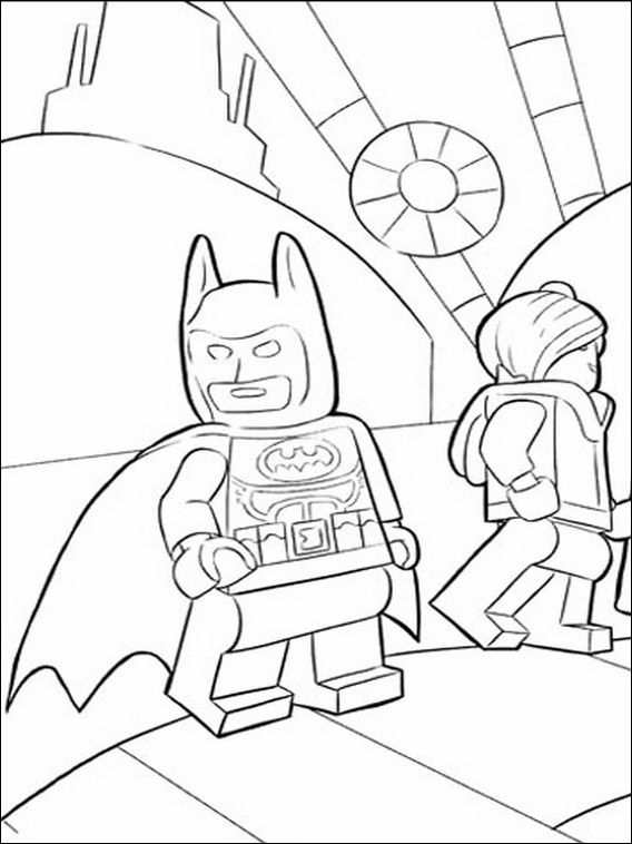 lego batman 26 ausmalbilder für kinder malvorlagen zum