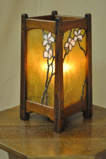 Arts And Crafts, Greene And Greene Style Craftsman Table Lamp Craftsmen  Hardware
