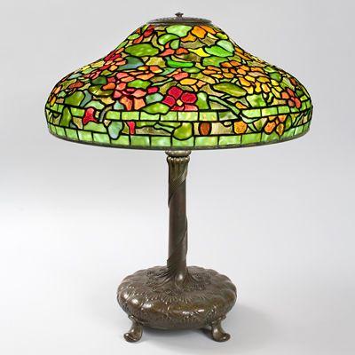 Nasturtium Tiffany Lamp Macklowe Gallery Tiffany