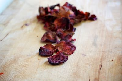 Roasted Beet Chips.  Yes.
