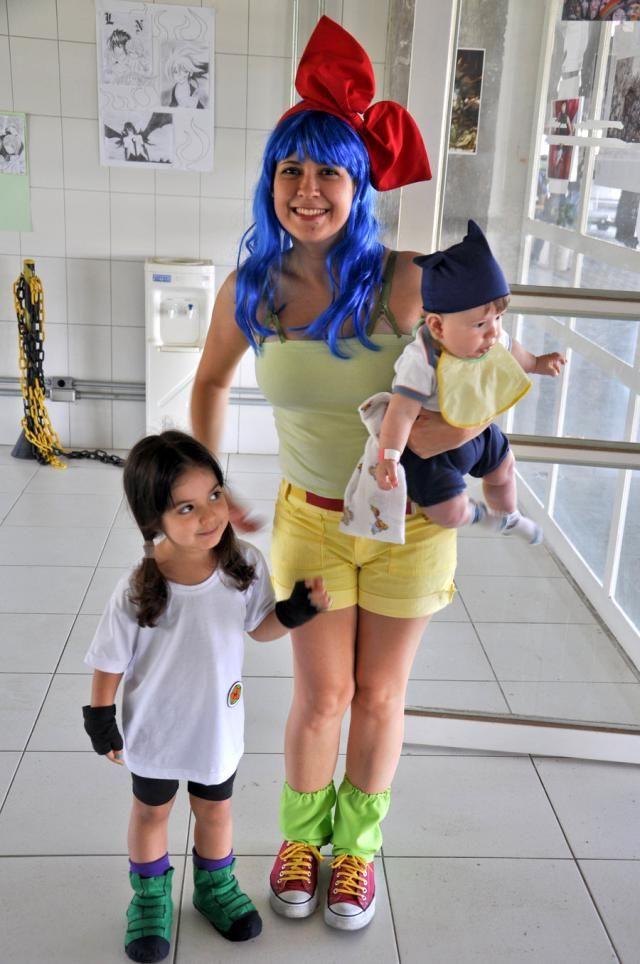 9 Super Cute Kids in Dragon Ball Z Cosplay Fantastic Bulma Trunks and Videl  sc 1 st  Pinterest & Anime and Manga   Pinterest   Family cosplay Dragon ball and Cosplay