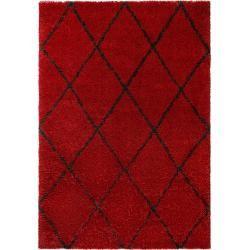 Photo of benuta high pile carpet Gobi red 80×150 cm – Berber carpet benuta