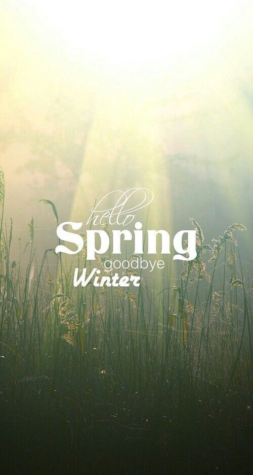 Hello Spring, Goodbye Winter Pictures, Photos, and Images for Facebook, Tumblr, Pinterest, and