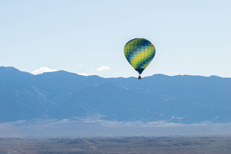 Hot Air Balloon Festival in Mesquite, Nevada. in 2020