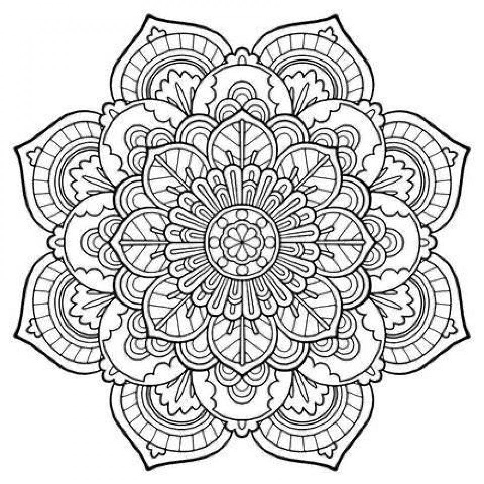 Mandala Coloring Online Free