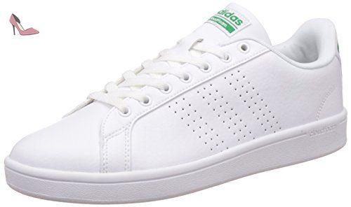 half off 0708b 1a13a Adidas Cloudfoam Advantage Clean, Baskets Basses Homme, Blanc (Footwear  White Footwear White