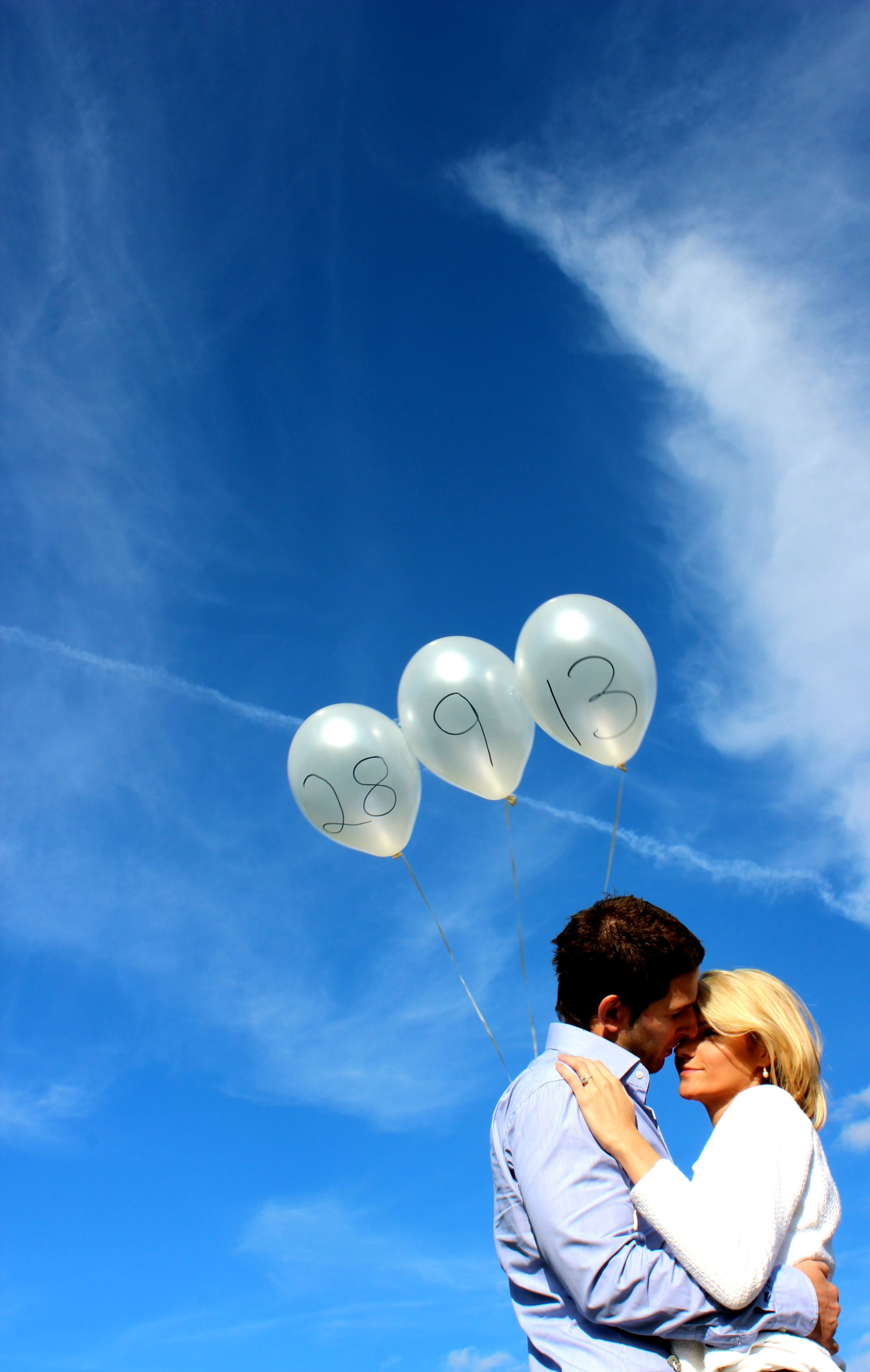 Save the Date Balloons - Photography by Carys Lyons - Taken at the ...