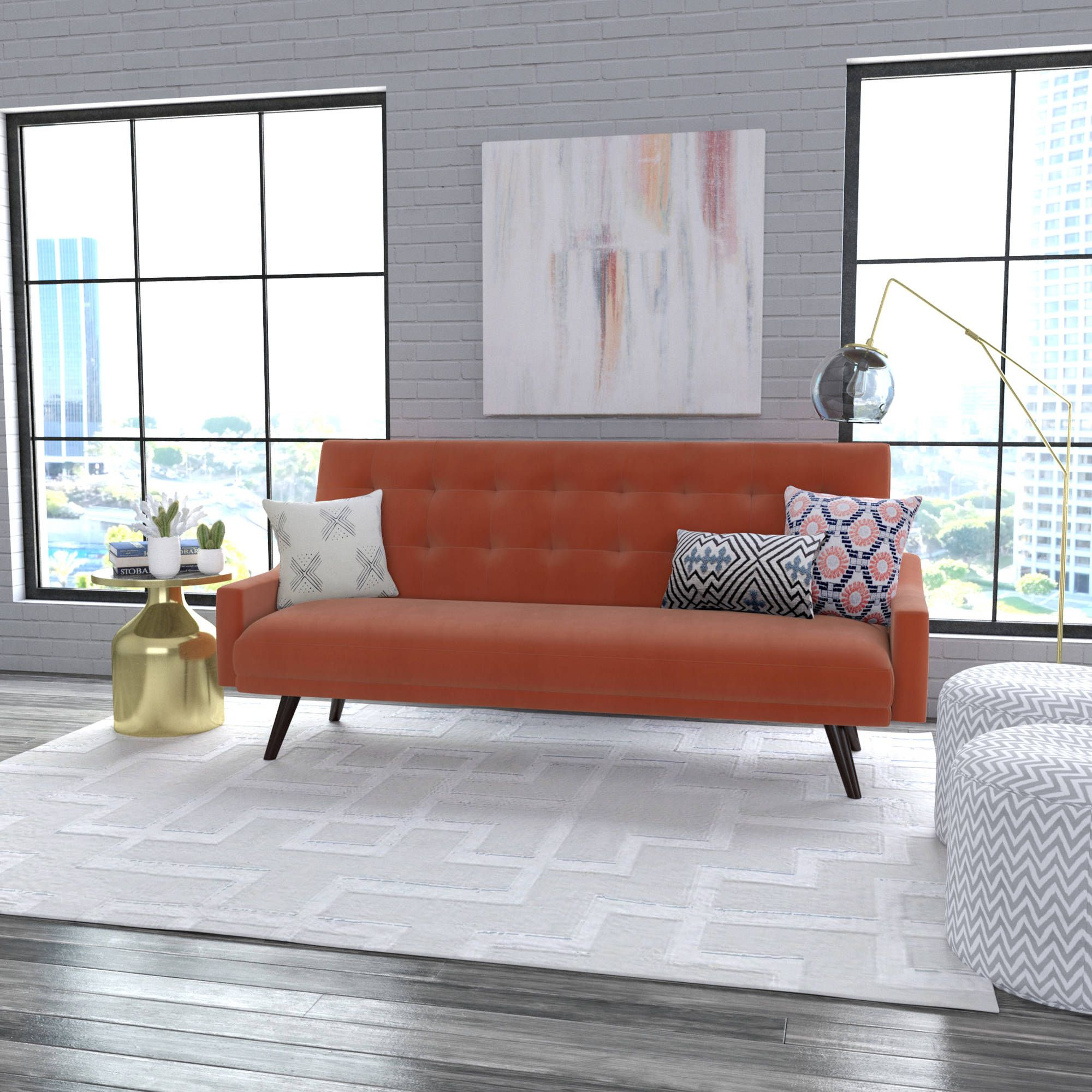 Incredible Buy Oakland Futon Sofa Bed Multiple Colors At Walmart Com Bralicious Painted Fabric Chair Ideas Braliciousco