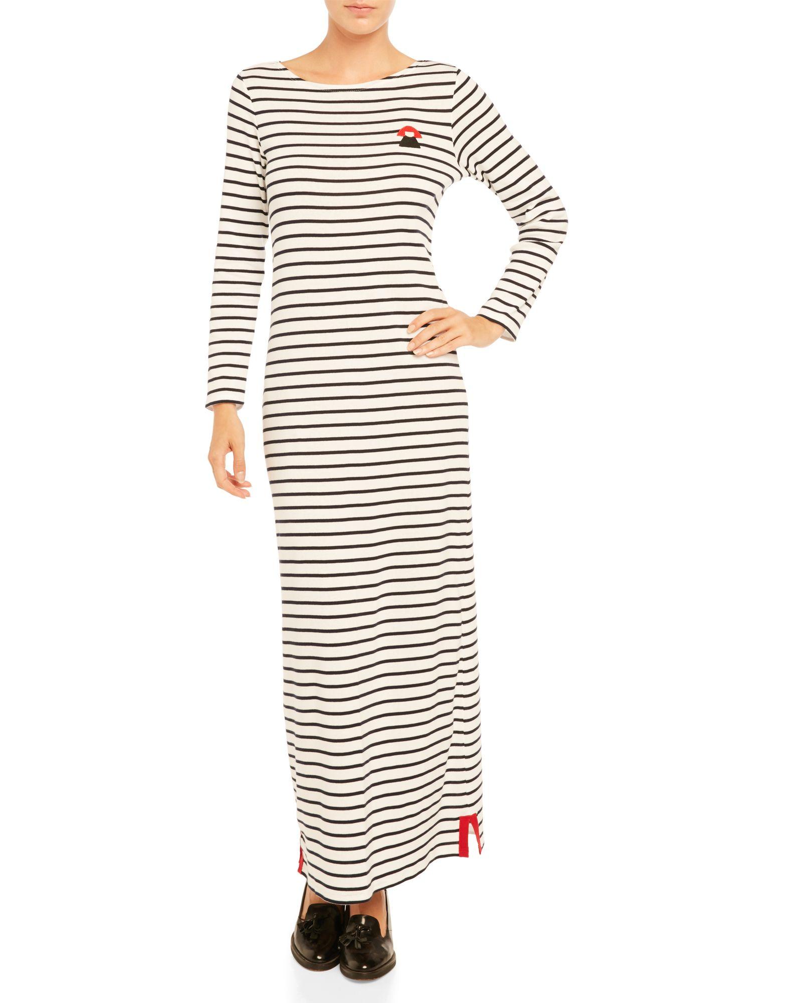 d807316925 Stripe Knit Maxi Dress | Sonia Rykiel RIP | Striped knit, Dresses ...